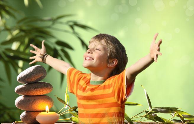 Pagode und Junge LebensGleichgewicht